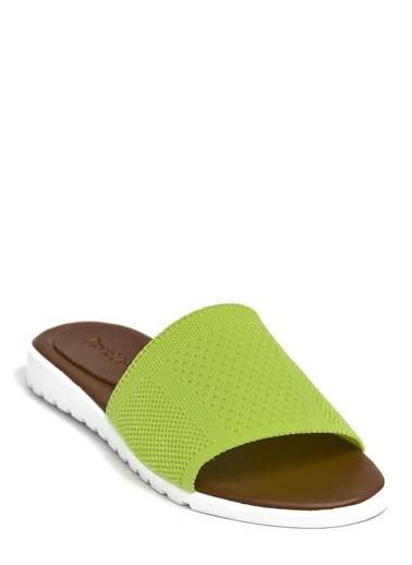 David Jones Sandalet Yeşil